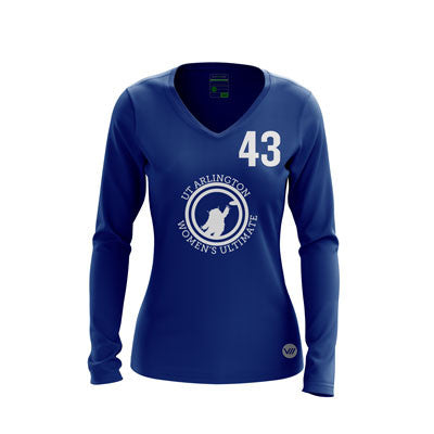 UT Arlington Yetti Dark Long Sleeve Jersey