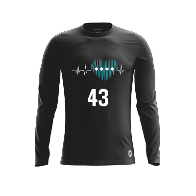 Northwestern Gungho Dark Long Sleeve Jersey