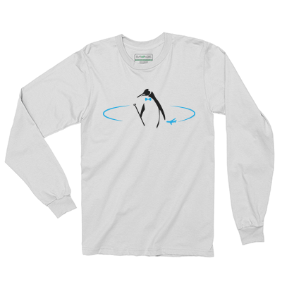 Lucid Travel Penguin Long Sleeve Tee