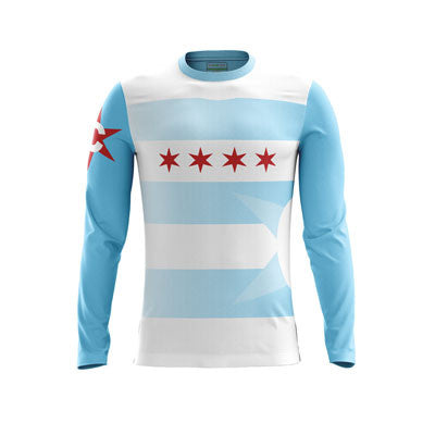 Chicago Quidditch Long Sleeve Jersey
