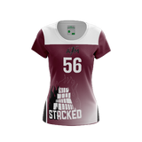 Texas A&M Stacked Dark Jersey