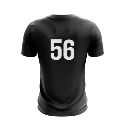 Texas A&M Stacked Black Jersey