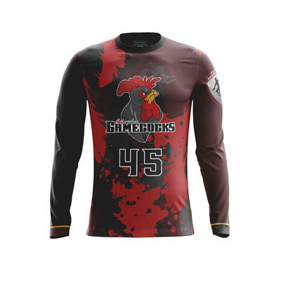 Columbus Gamecocks Long Sleeve Jersey
