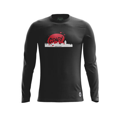 Cincy Snapbacks Long Sleeve Jersey
