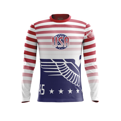 NCDA Team USA LS Jersey