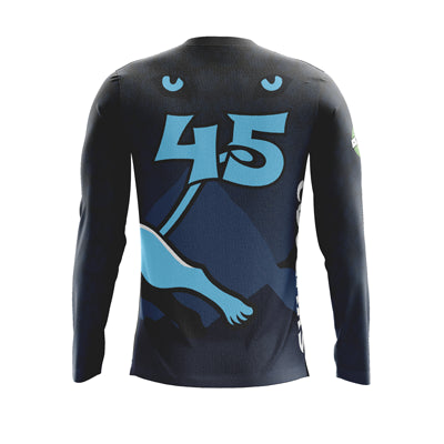 Mt Mansfield Cougars Dark Long Sleeve Jersey