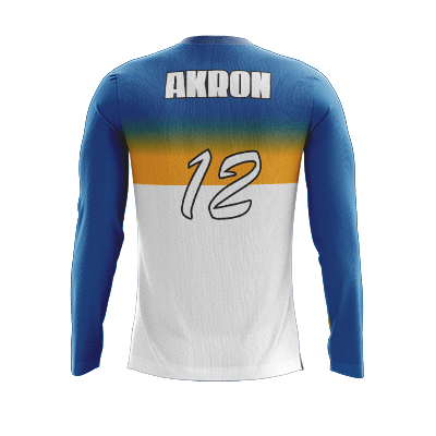 Akron Gold Diggers Long Sleeve Jersey