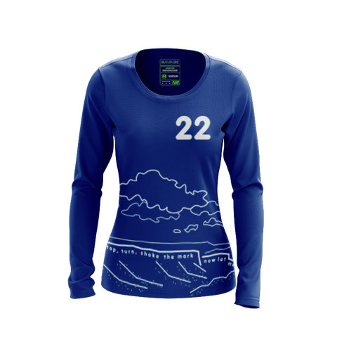 Hot Tub Magic Dark LS Jersey