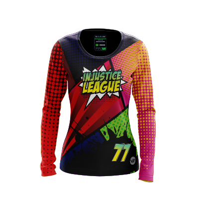Injustice League Long Sleeve Jersey