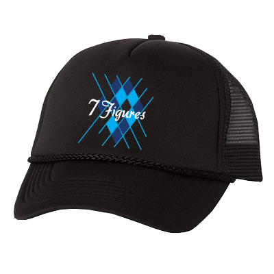 7 Figures Trucker Hat