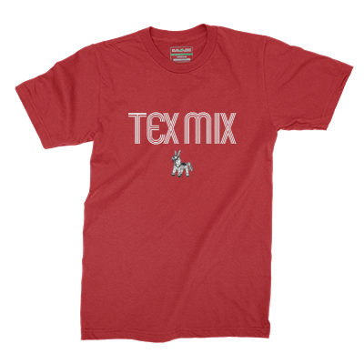 Tex Mix Tee (Wordmark)