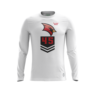 Saginaw Valley State Dodgeball Alternate Light LS Jersey