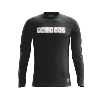 Malice Warm-up Dark LS Jersey