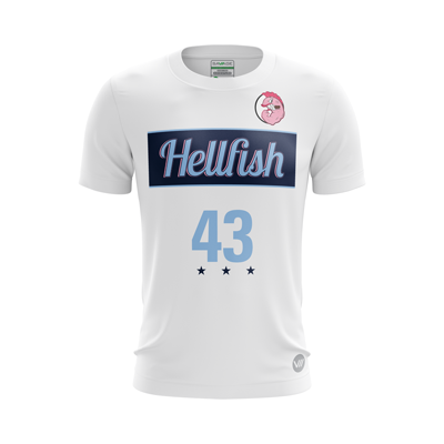 James Madison Hellfish Light Jersey