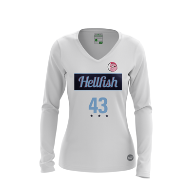 James Madison Hellfish Light LS Jersey