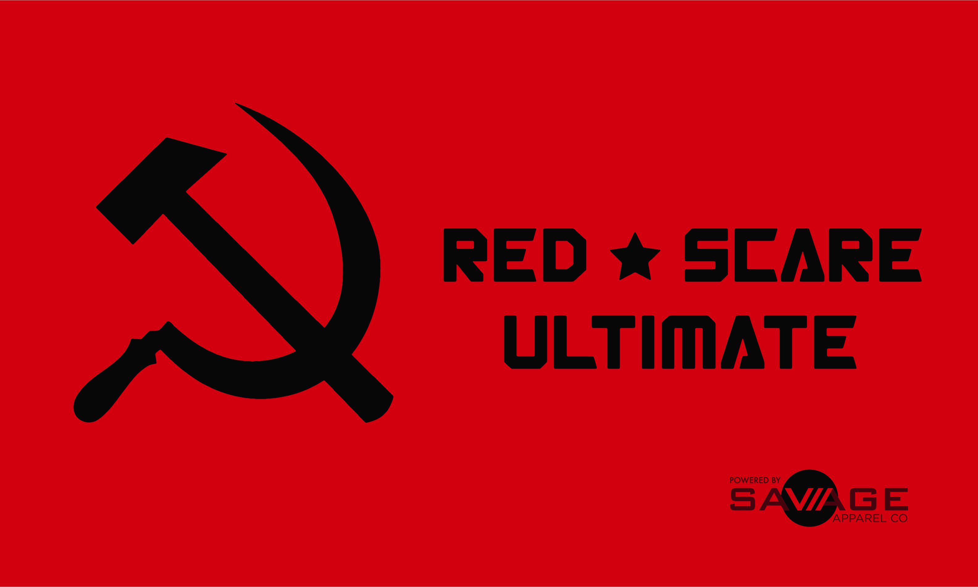 Red Scare Ultimate Flag