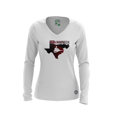 Texas State Trainwreck 2018 Light LS Jersey