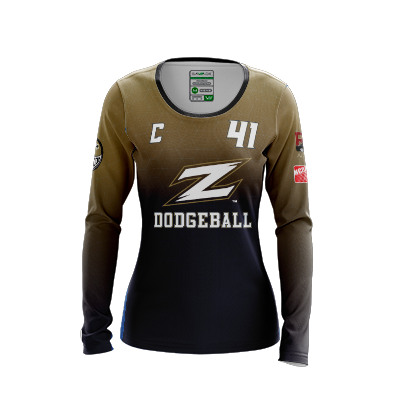 Akron Dodgeball LS Jersey