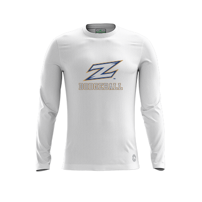 Akron Dodgeball Warmup Light LS Jersey