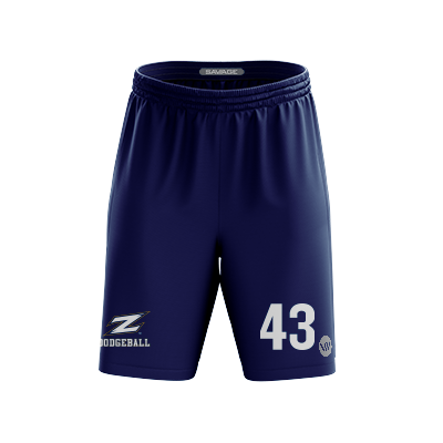 Akron Dodgeball Alternate Shorts