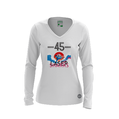 GMU Laser Sharks Light LS Jersey