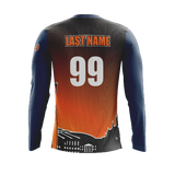 Syracuse Fox Force LS Dark Jersey