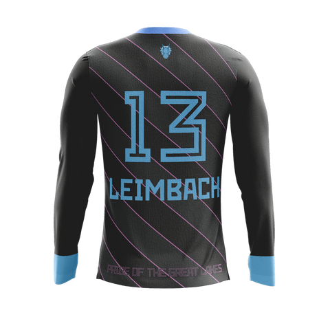 Lake Erie Elite Dark LS Jersey