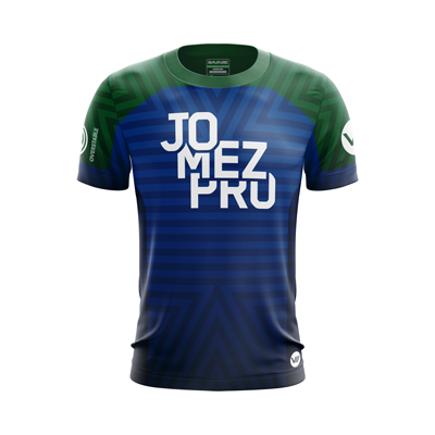 Jomez Productions 2018 Course Stripes Jersey (Blue)