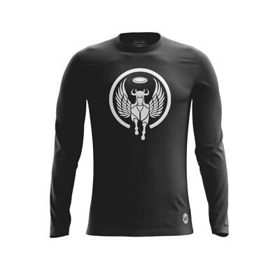 Oberlin Flying Horsecows Dark LS Jersey