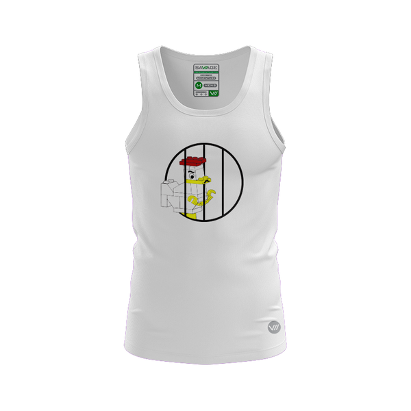Cock Block Prison Light Tank Jersey
