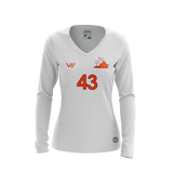 Blacksburg Quidditch Club Light LS Jersey