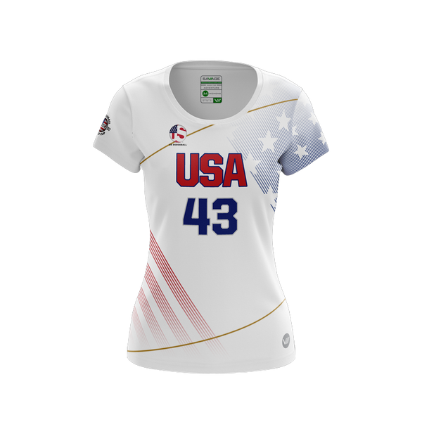 US Dodgeball Light Jersey