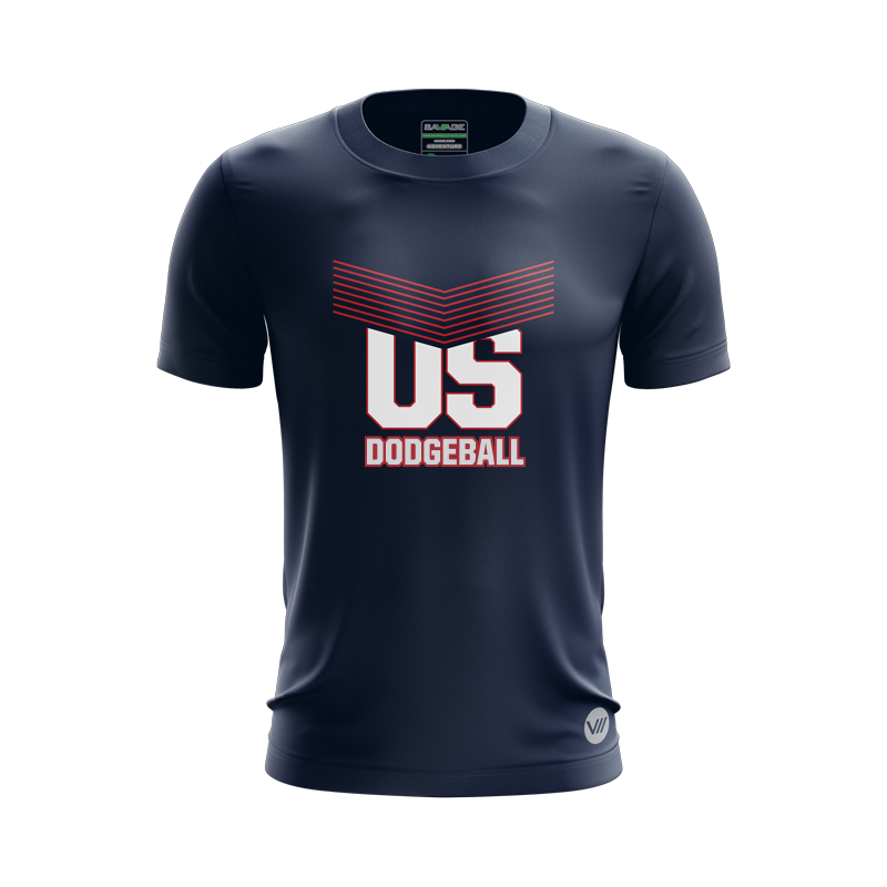 US Dodgeball Navy Jersey
