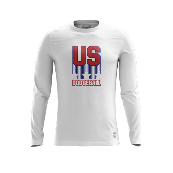 US Dodgeball Stars & Stripes LS Jersey