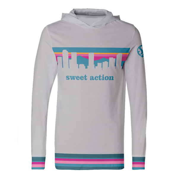 Sweet Action Champ - Hooded Long Sleeve Jersey