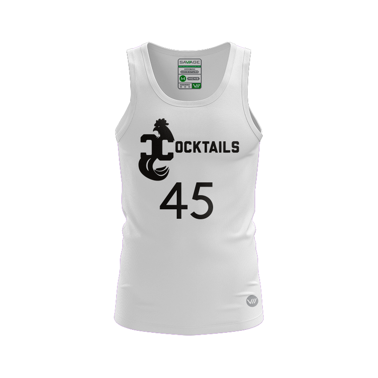 Columbus Cocktails Light Tank Jersey