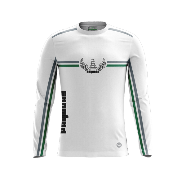 Flying Pagodas Light LS Jersey