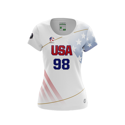US Dodgeball Light Jersey - Cushing 98