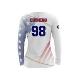 US Dodgeball Light LS Jersey - Cushing 98