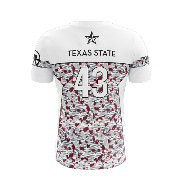 Texas State Buckets Alternate Light Jersey