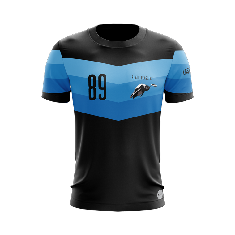 Black Penguins Dark Jersey