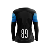 Black Penguins Dark LS Jersey