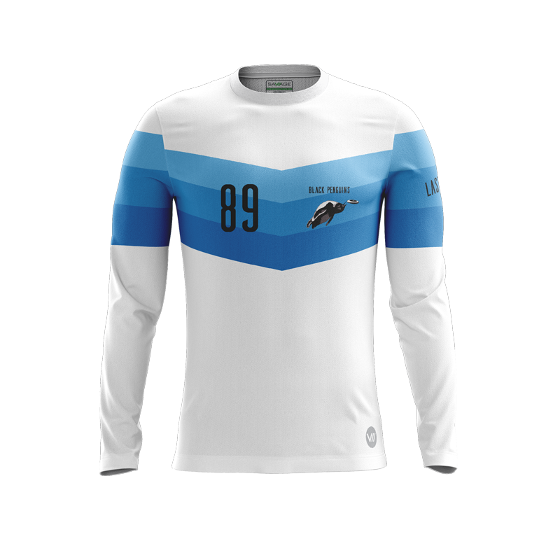Black Penguins Light LS Jersey