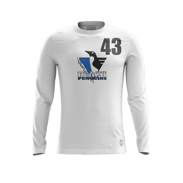 Black Penguins 2019 Light LS Jersey