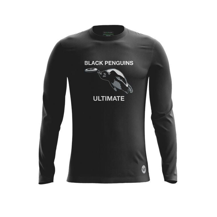 Black Penguins Alternate LS Jersey