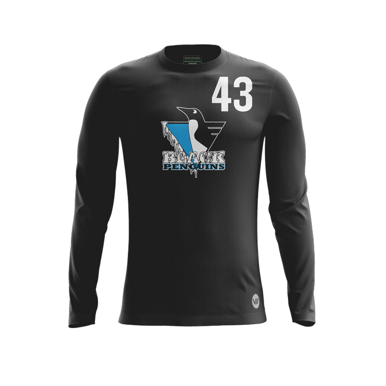 Black Penguins 2019 Dark LS Jersey