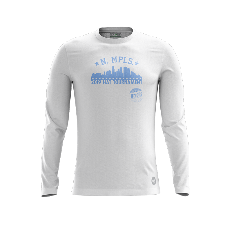 North Minneapolis White LS Jersey