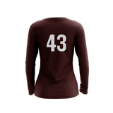 False Alarm Ultimate Maroon LS Jersey