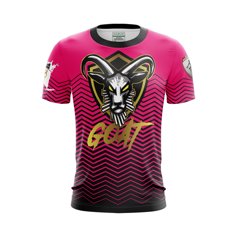 Goat Dodgeball Pink Top Jersey