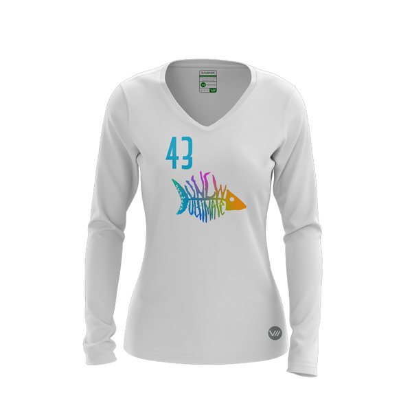 UNCW Seaweed Light LS Jersey